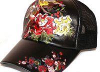 Бродерия върху бейзболни шапки5