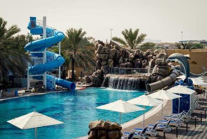 Один из отелей Умм-аль-Кайвайна