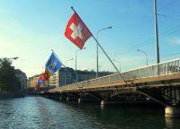 Мост Мон-Блан, ведущий к парку