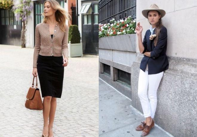 Anglický styl oblečení 1