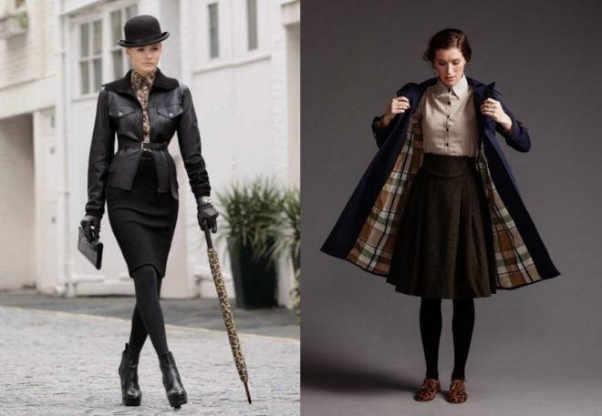 Anglický styl oblečení 2