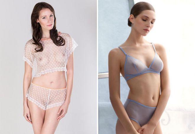 erotické transparentní spodní prádlo
