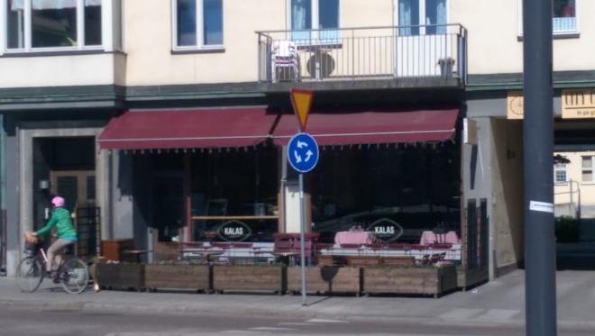 Restaurang Kalas & Bar - один из популярных ресторанов города