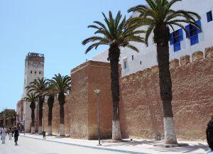 Крепостные стены Эс-Сувейры