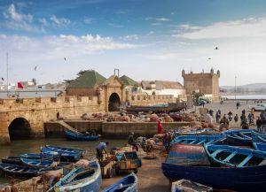Разбор рыбы в порту Эс-Сувейры