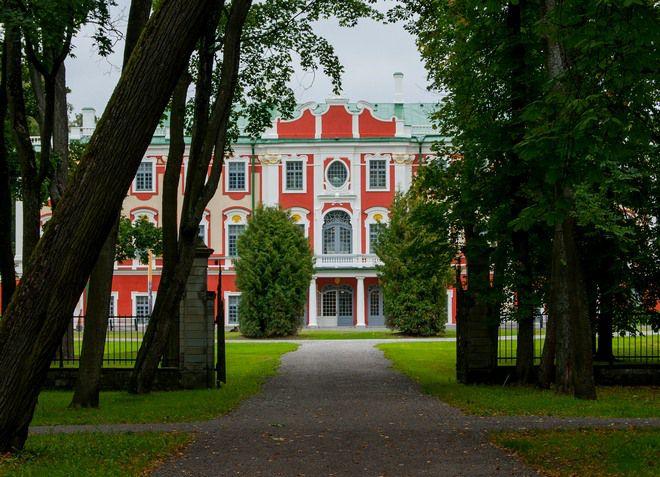 Кадриоргский дворец, Парк Кадриорг, Таллин