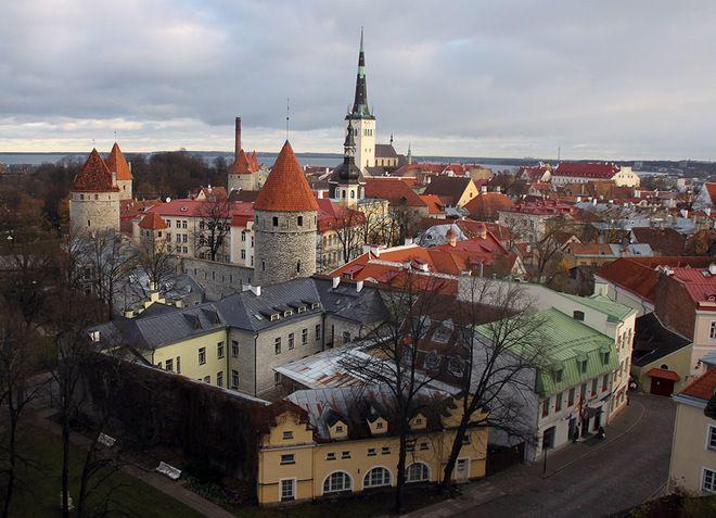 Верхний город Таллина