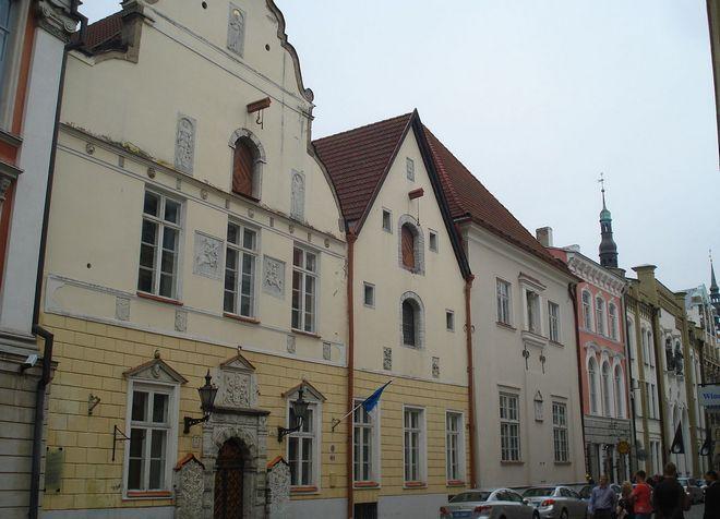 Дом Братства Черноголовых в таллинском Старом городе