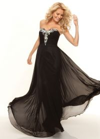 piękne czarne sukienki 4