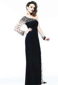 piękne czarne sukienki 8