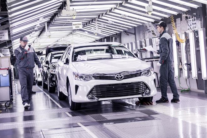 Экскурсия на завод Тойота