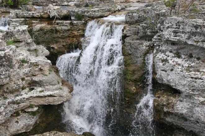 Водопад на Циевне
