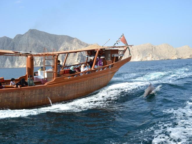 Морская прогулка у берегов Хасаба