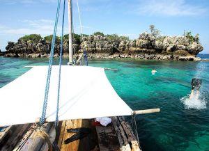 На пути к острову Мафия