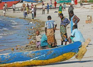 Местные жители острова Мафия