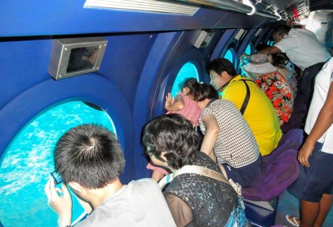 Путешествие на подводной лодке