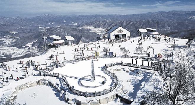 Горные лыжи в Южной Корее