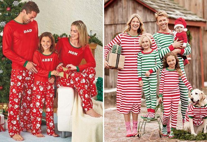 новогодние пижамы фэмили лук