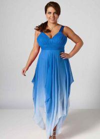 Fancy dress dla pełnych kobiet na wesele12