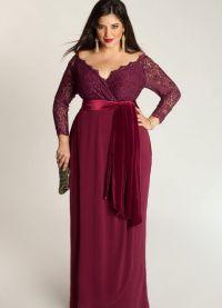 Eleganckie sukienki dla pełnych kobiet na wesele 14