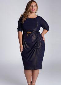 Eleganckie sukienki dla pełnych kobiet na wesele1