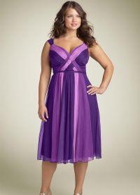 Fancy dress dla pełnych kobiet na wesele5