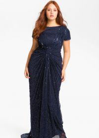 Fancy dress dla pełnych kobiet na wesele9