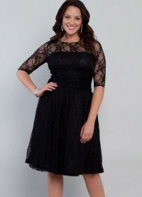 Елегантне хаљине за гојазне жене на годишњицу 9