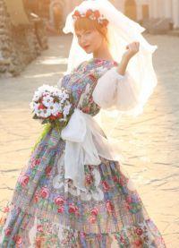 neobvyklé svatební šaty 2016 1