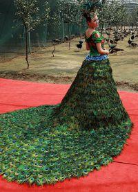 neobvyklé svatební šaty 2016 2