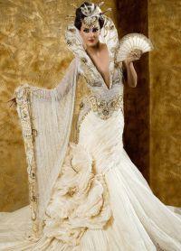 neobvyklé svatební šaty 2016 4