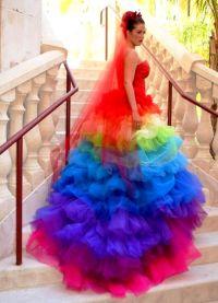 neobvyklé svatební šaty 2016 5