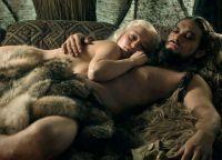 Дейенерис и Кхал Дрого после ночи любви