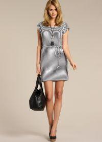 stil haljina za lik s širokim bokovima2