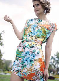 stil haljina za lik s širokim kukovima 7