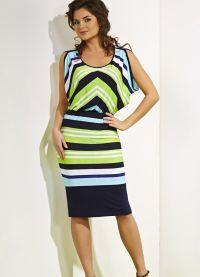 stil haljina za lik s širokim bokovima16