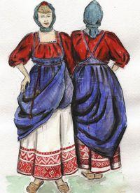 Мода от 16-ти век 6