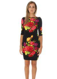 Sukienka z kwiatowym nadrukiem 2