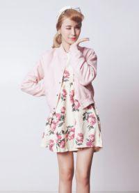 Sukienka z kwiatowym nadrukiem 8