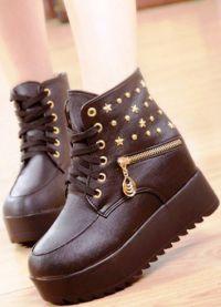 модни обувки падат зима 2016 2017 18