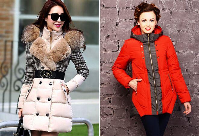 модные зимние куртки