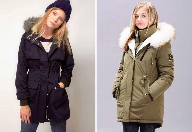 модные куртки парки
