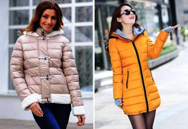 модные зимние куртки для женщин