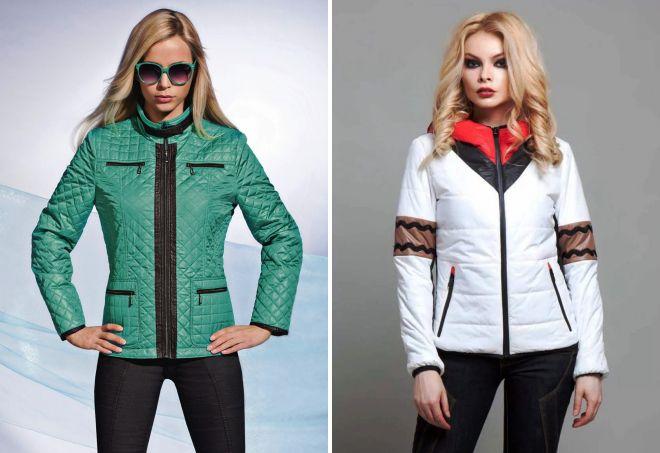модные демисезонные куртки
