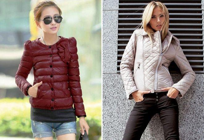 модные короткие куртки
