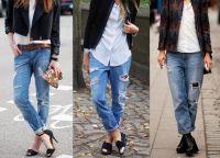 modne jesienne jeansy 2015 2