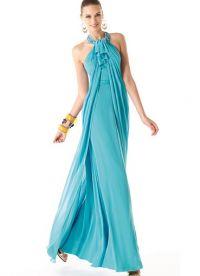модни дълги рокли 9