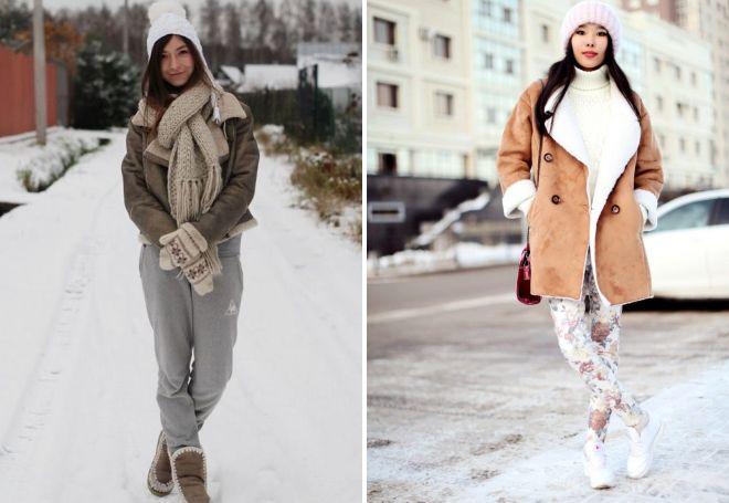модные дубленки для стильных женщин