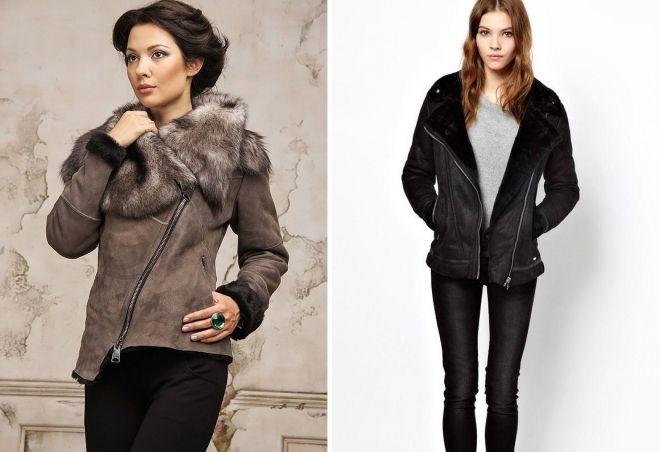 модные дубленки зима 2017 2018
