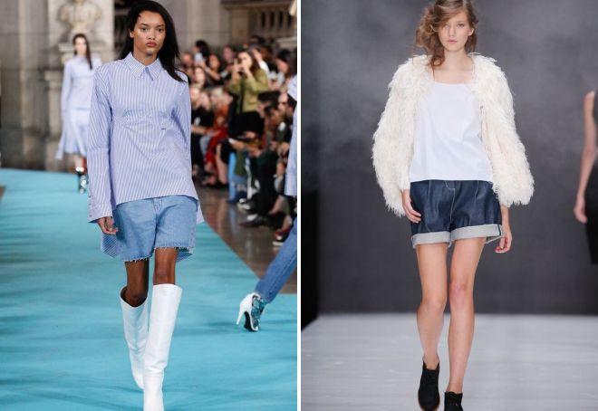 модные молодежные шорты